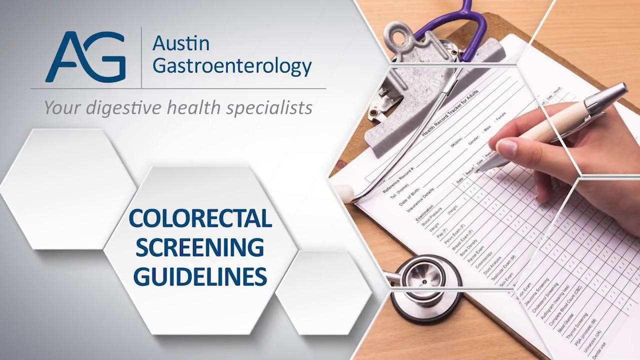 Dr. Benjamin Havemann with Austin Gastro Havemann on Colorectal Cancer Screening