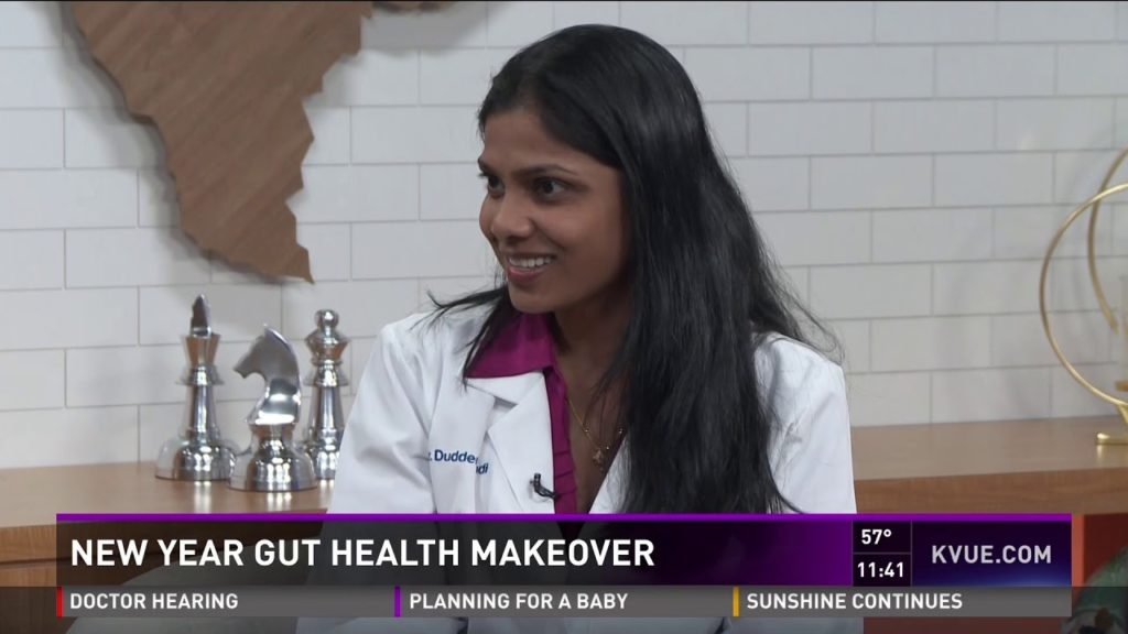 Dr. Anupama Duddempudi Discusses Gut Health Makeovers on KVUE News