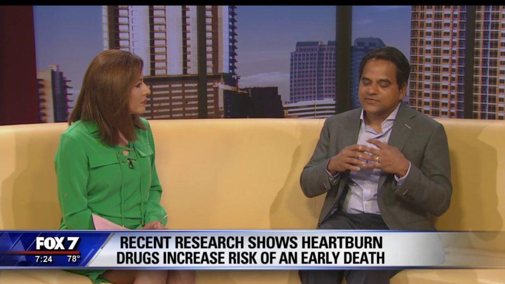 Dr. Pradeep Kumar Discusses Proton Pump Inhibitors on FOX 7 News