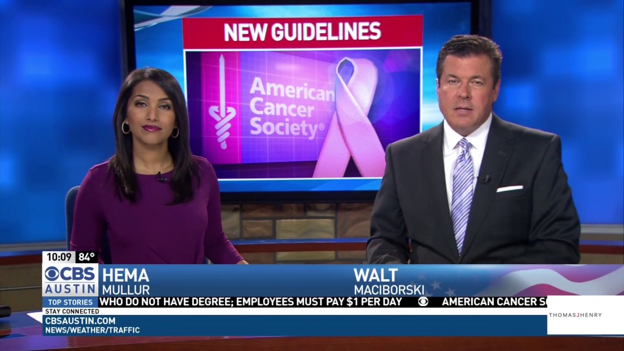 Dr. Harish Gagneja talks to CBS Austin about New Colon Cancer Screening Guidelines